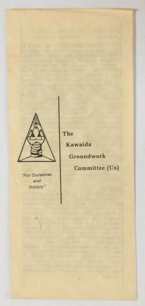 The Kawaida Groundwork Committee (Us)