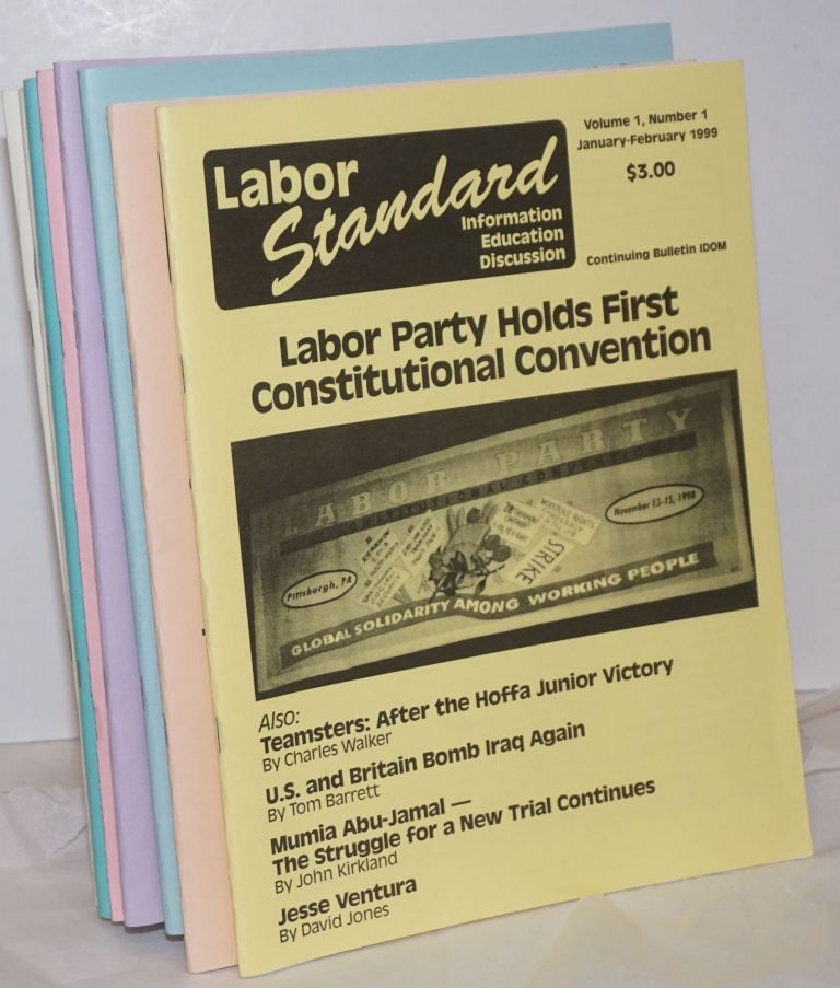 Labor Standard: Information, Education, Discussion [10 issues]