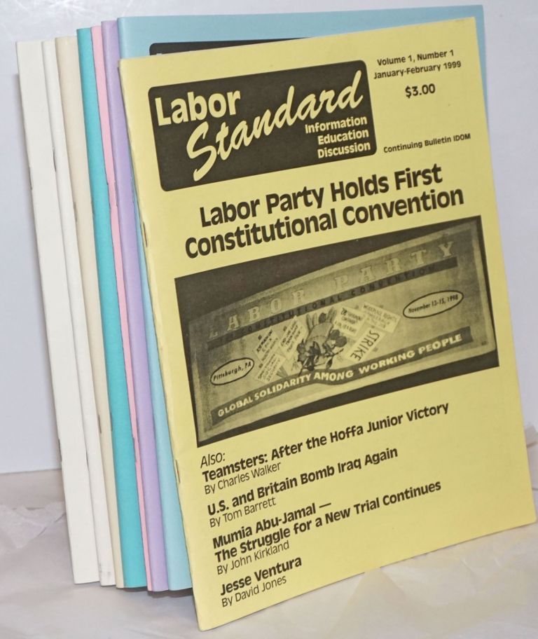 Labor Standard: Information, Education, Discussion [8 issues]