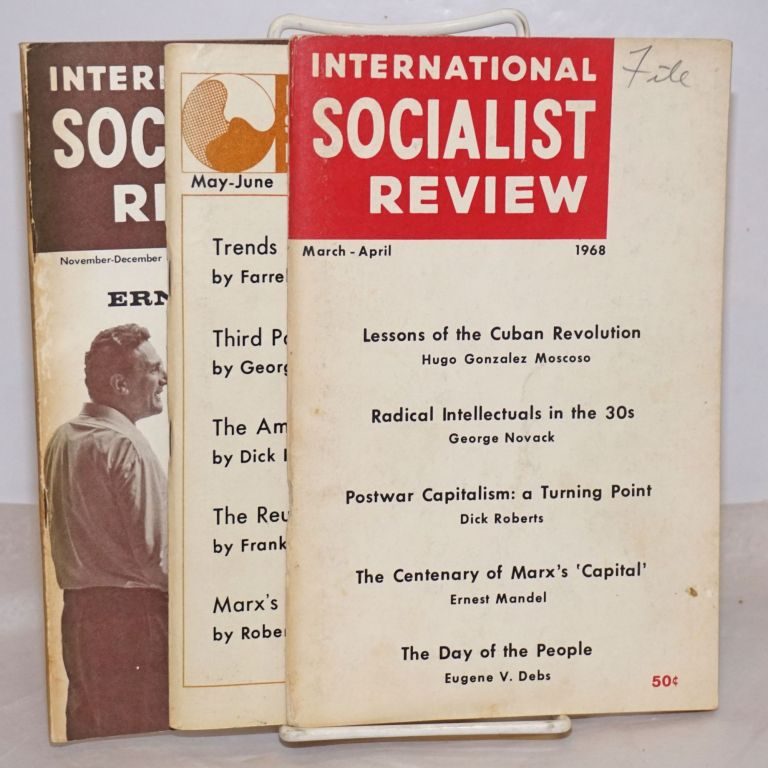 International Socialist Review 3 issues for 1968 [3 issues for 1968]