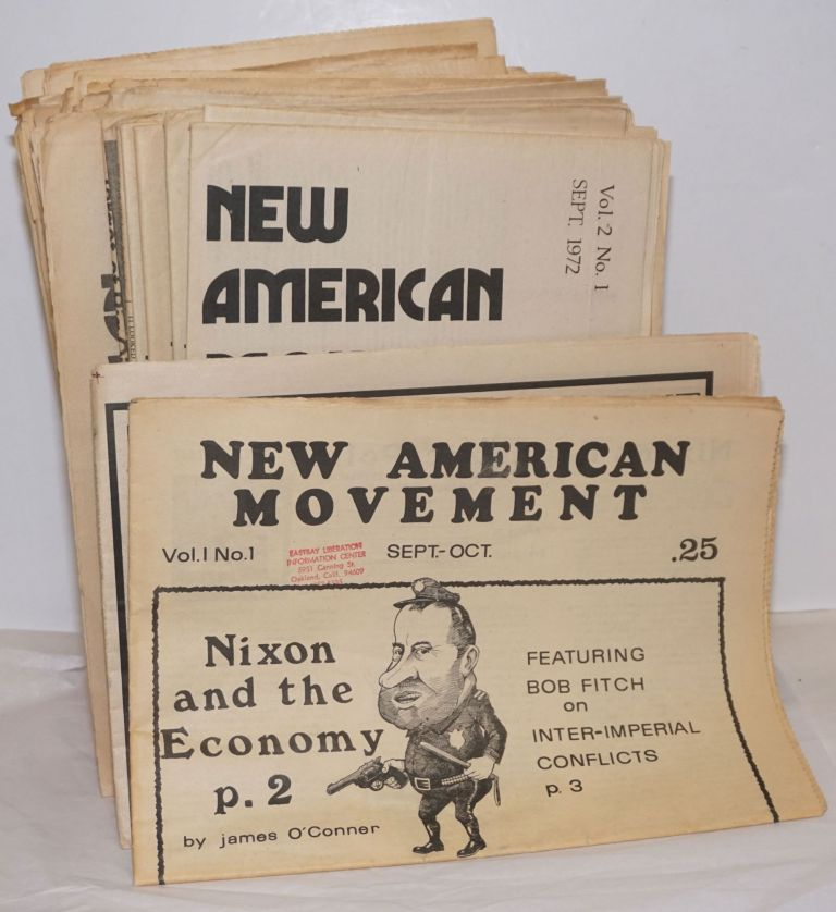 New American Movement [41 issues]