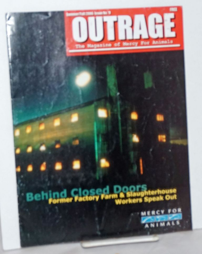 Outrage: The Magazine of Mercy For Animals; Issue No. 9, Summer/Fall 2006