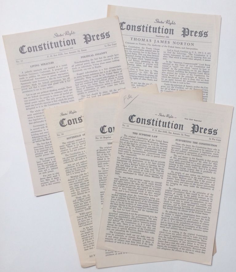 Constitution Press [six issues
