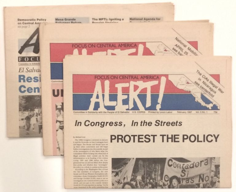 Alert! Focus on Central America [four issues]