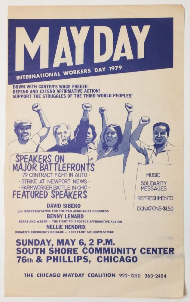 Mayday: International Workers Day 1979 [poster]