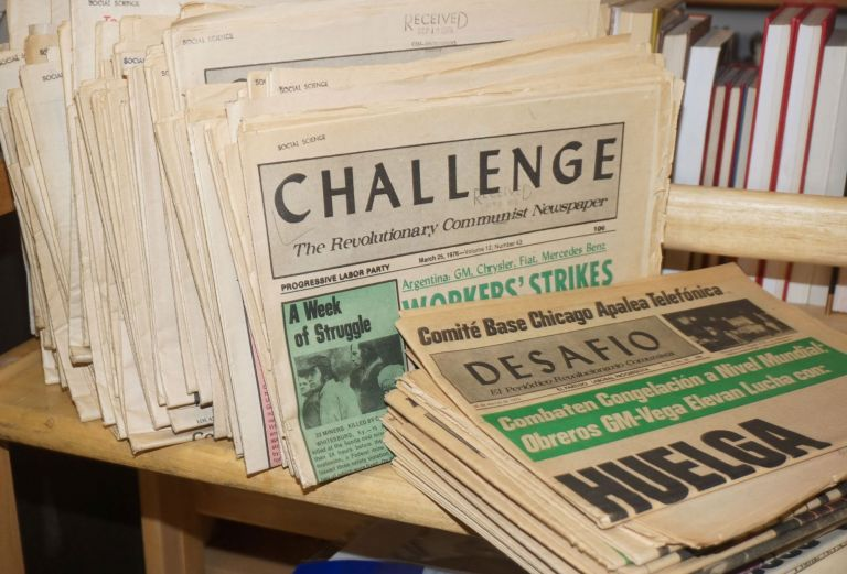 Challenge, the Revolutionary Communist Newspaper [108 issues]. Progressive Labor Party.