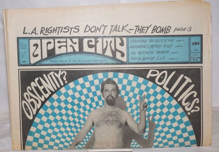 Open City: weekly review of the Los Angeles Renaissance; #75, Oct. 25-31, 1968; Obscenity?...