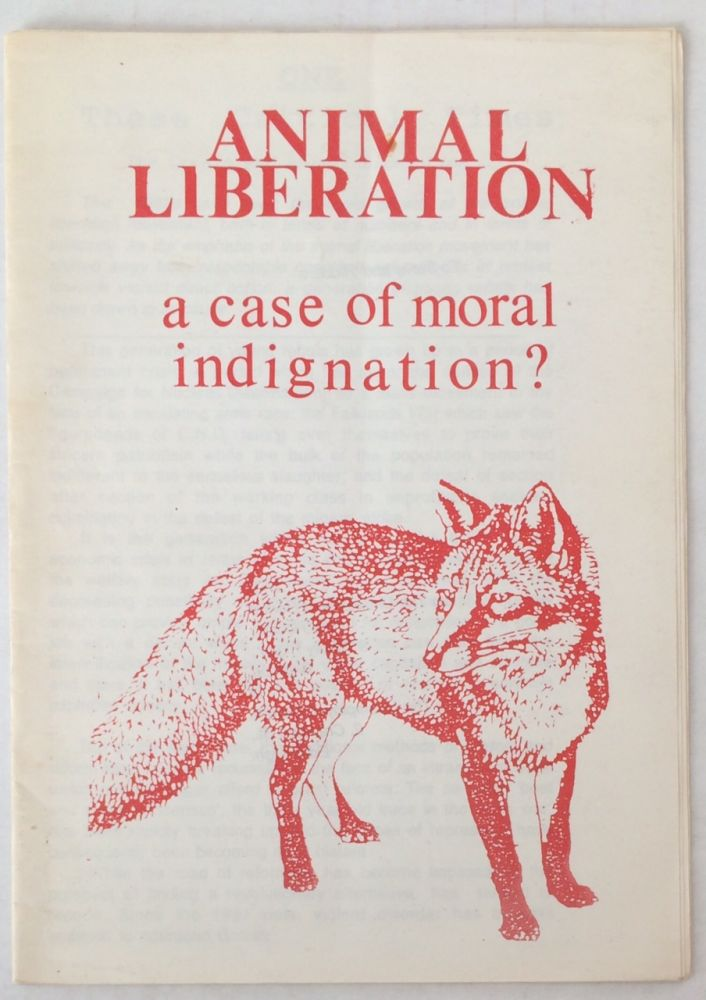Animal liberation: a case of moral indignation?