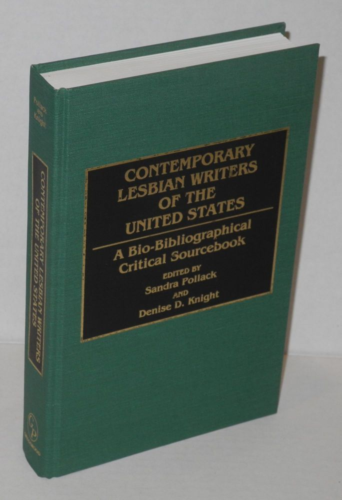 Contemporary lesbian writers of the United States; a bio-bibliographical critical sourcebook. Dorothy Allison, Kitty Tsui, Jewelle L. Gomez, Susan Pollack, Denise D. Knight.