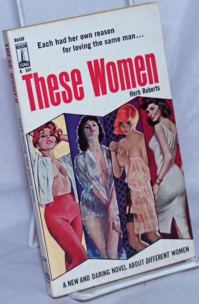 These Women. Herb Roberts, cover, Charles Copeland.