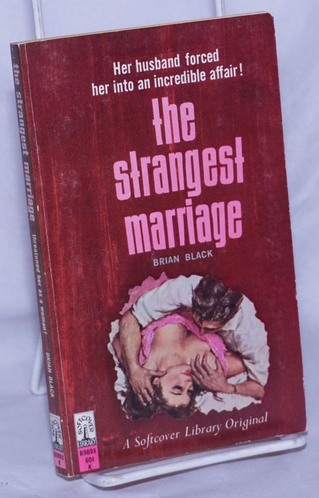 The Strangest Marriage. cover, Victor Olson.