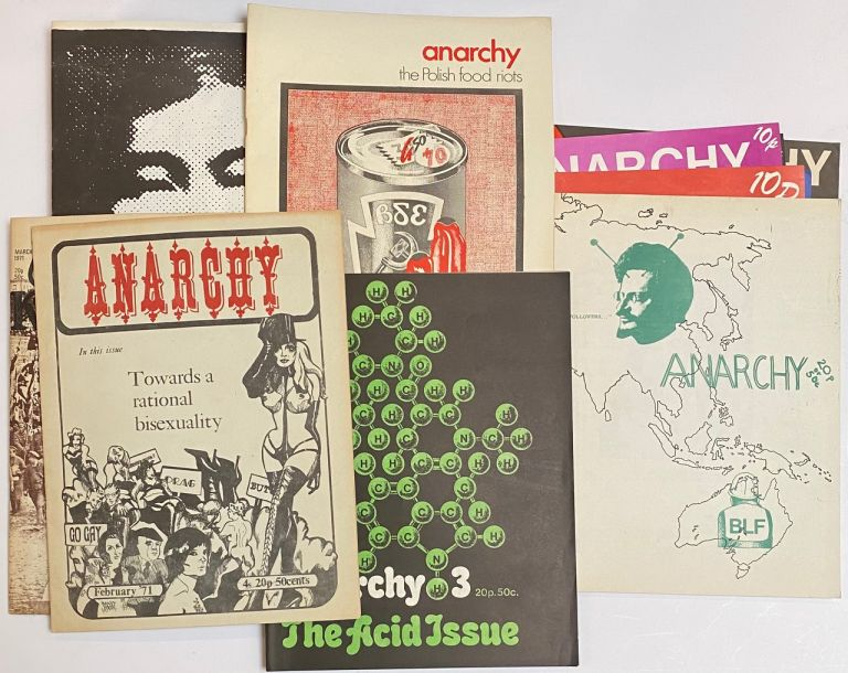 Anarchy (second series) [Issues 1-19]