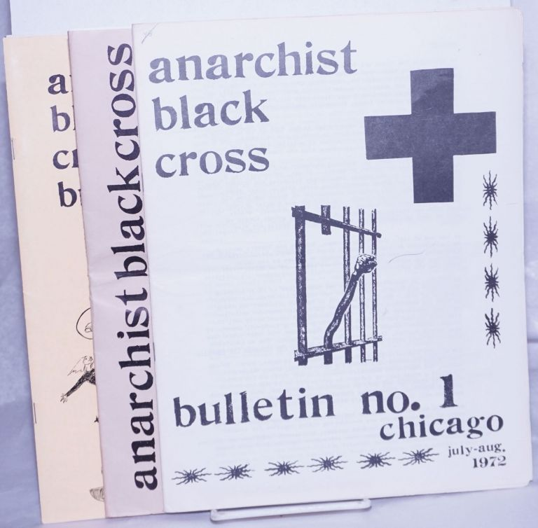 Anarchist Black Cross Bulletin [3 issues]