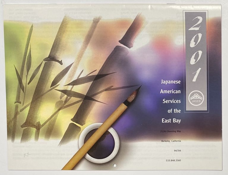 Japanese American Services of the East Bay. 2001 calendar