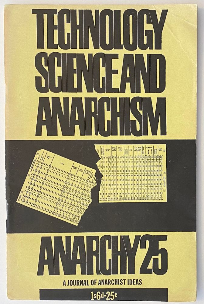 Anarchy: a journal of anarchist ideas. No. 25 (March 1963)