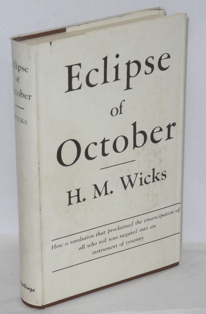 Eclipse of October. H. M. Wicks.
