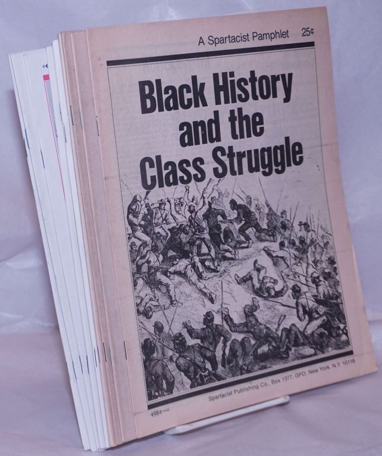 Black history and the class struggle [Nos. 1,2 ,4, 7, 13-15, 18-20]