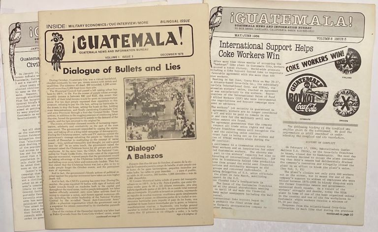 Guatemala! [three issues]