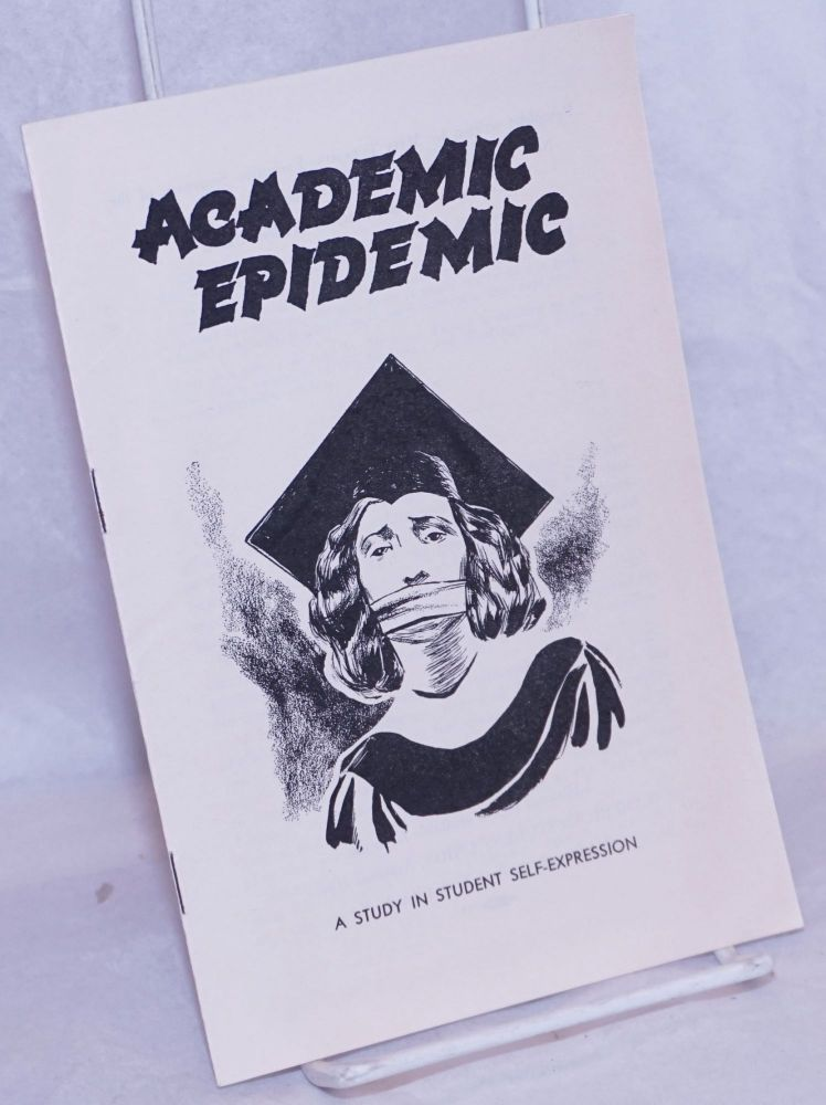 It's an academic epidemic, a study in student self-expression. Maia Turchin.