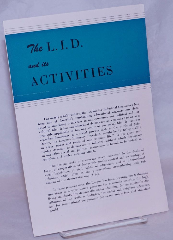 The L.I.D. and its Activities