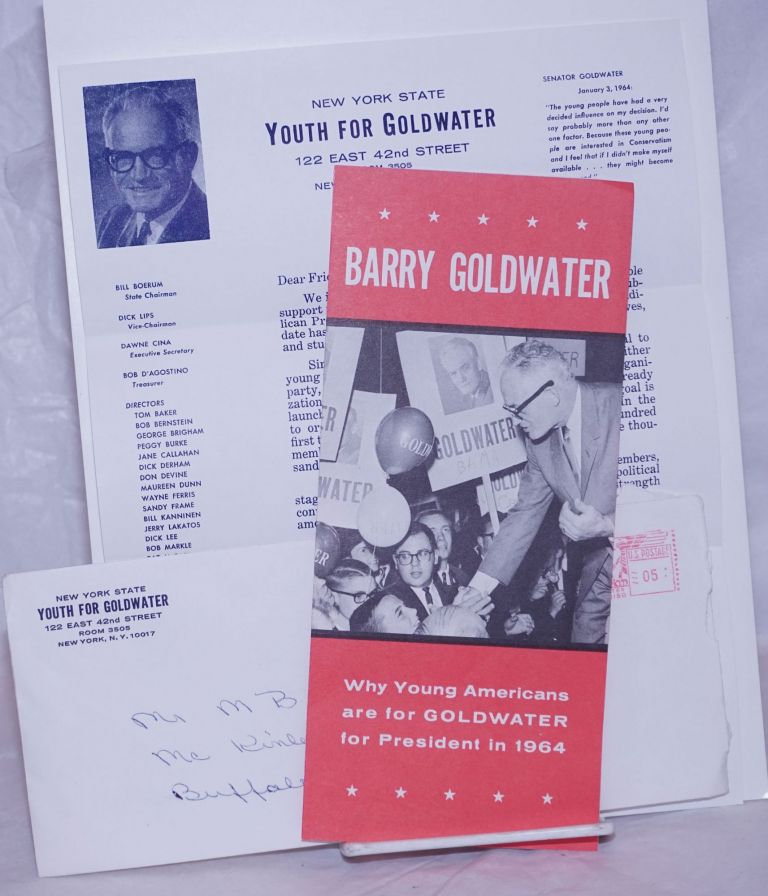 Barry Goldwater: Why young Americans are for GOLDWATER for President in 1964