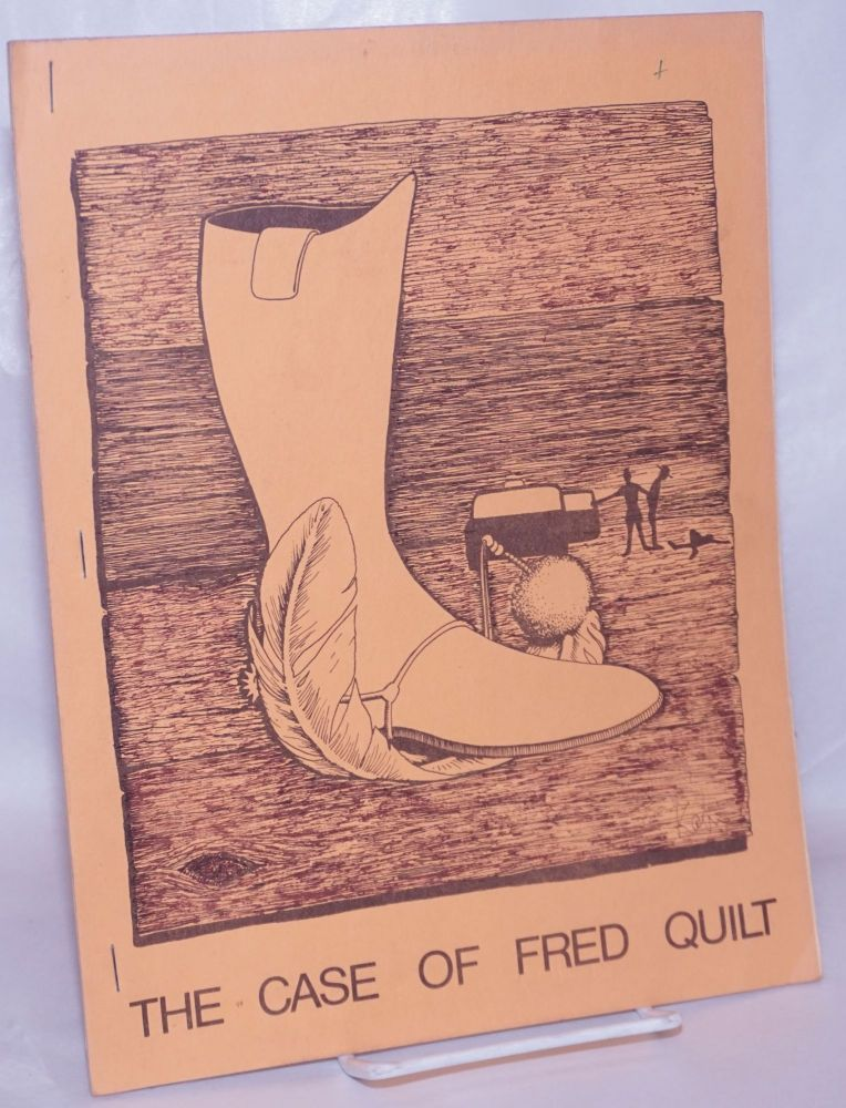 The case of Fred Quilt [cover title] Fred Quilt is dead [caption title]