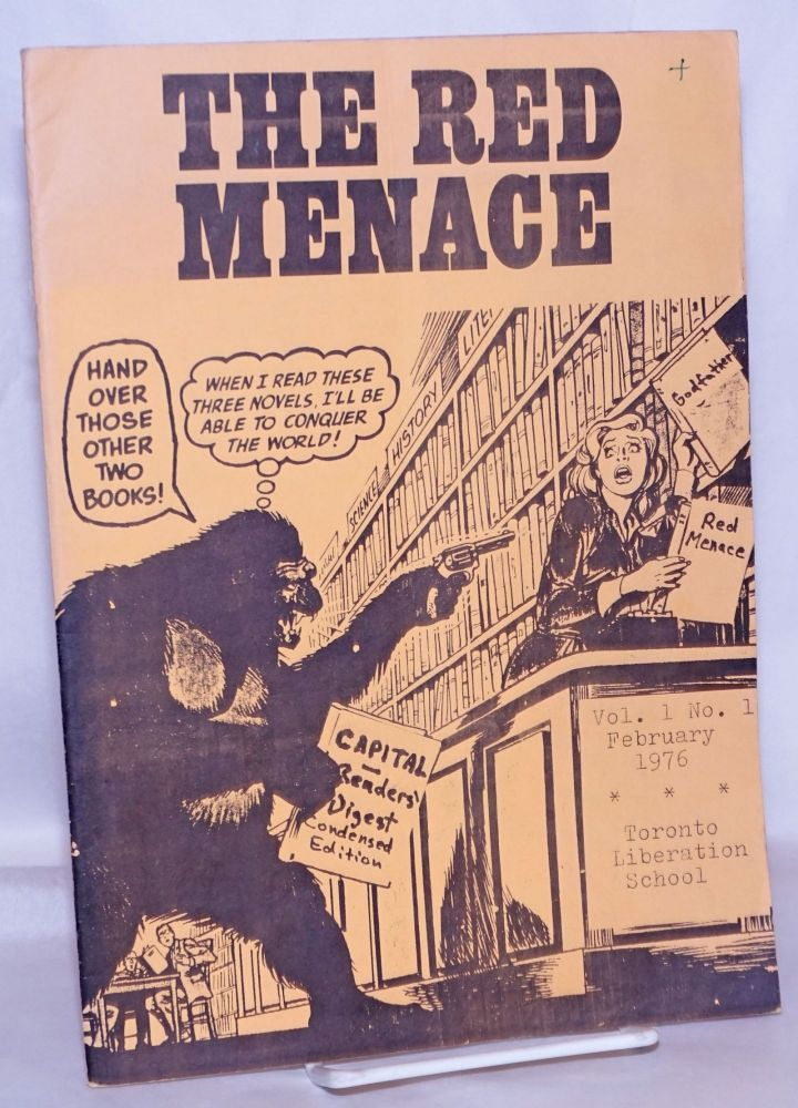 The Red Menace: Vol. 1 No. 1, February 1976