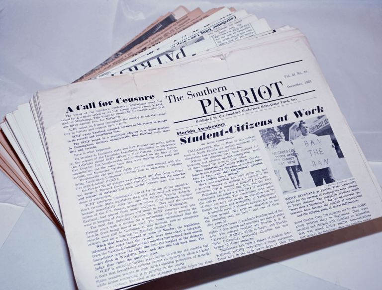 The Southern Patriot [121 issues]. Southern Conference Educational Fund.