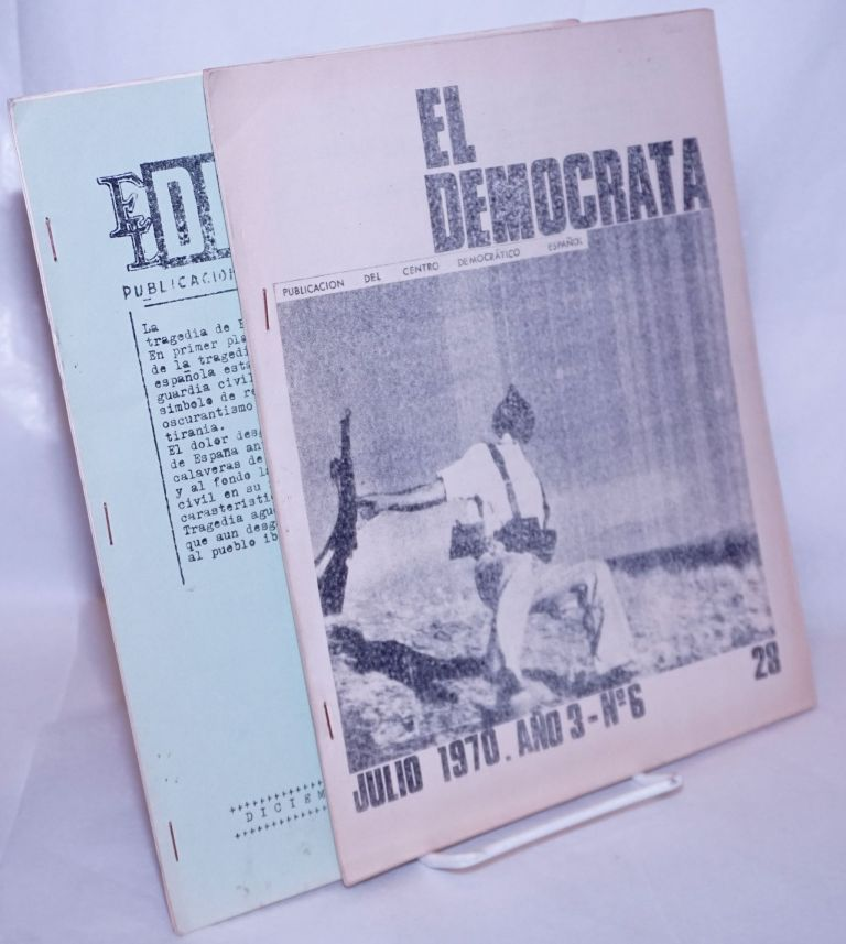 El Demócrata [two issues: July and December 1970]