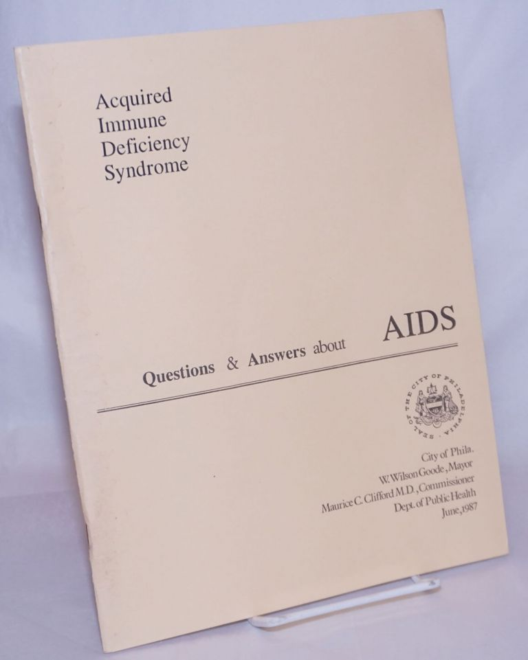 Questions & Answers About AIDS