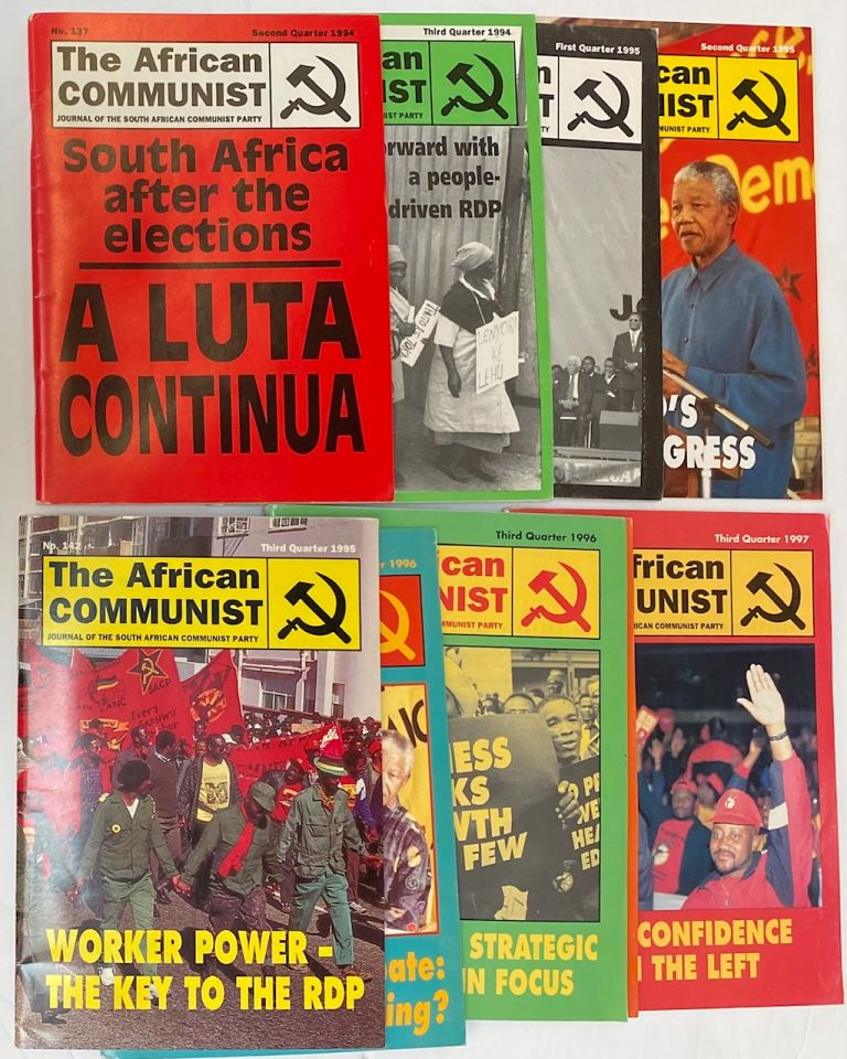 The African Communist [nine different issues]