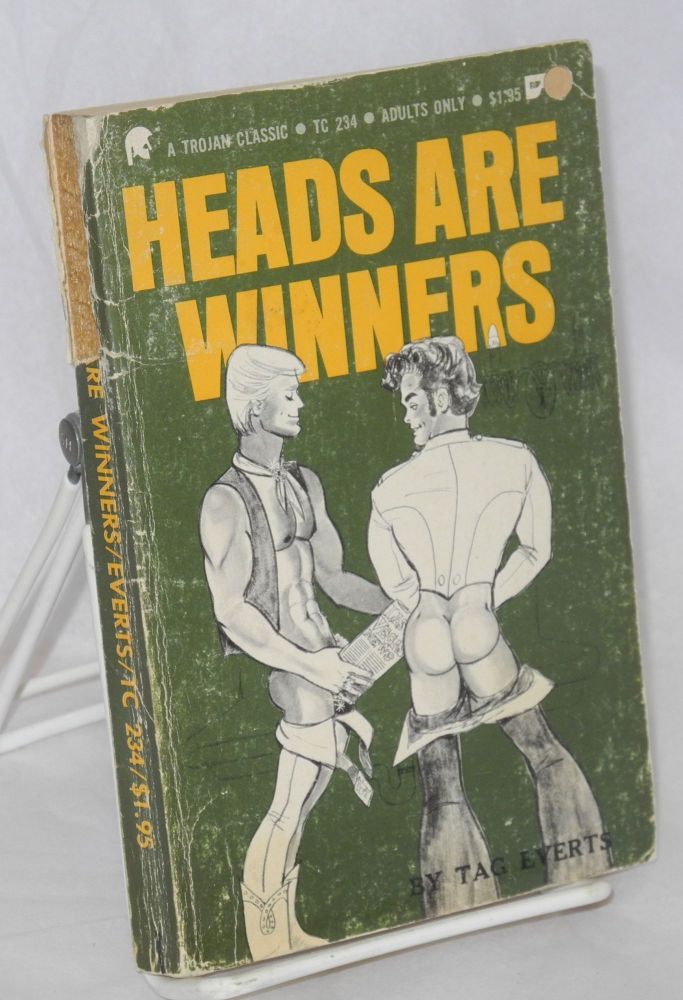 Heads are winners: book 4 in the Casino Town quintology. Tag Everts.