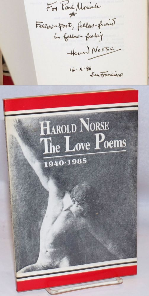 The love poems; 1940-1985. Harold Norse.