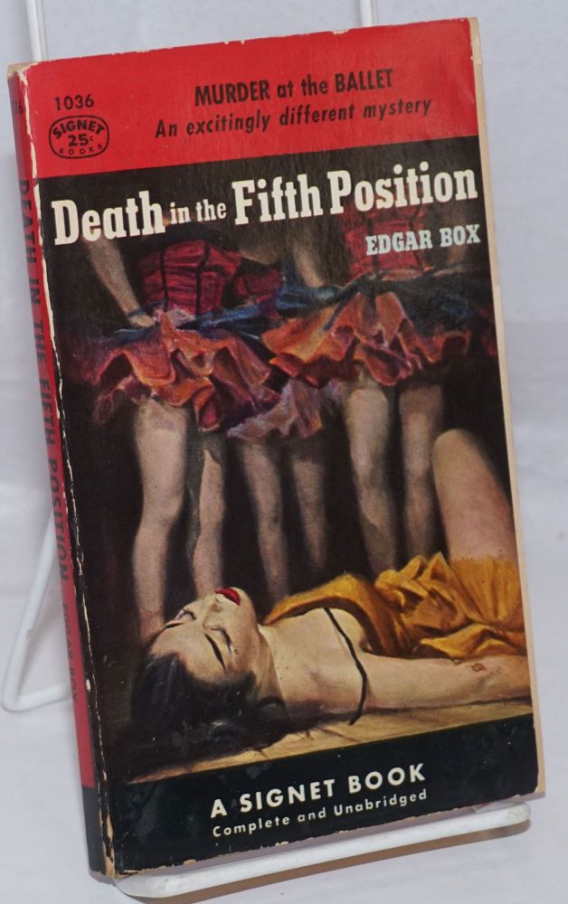 Death in the fifth position. Gore Vidal, , Edgar Box pseud.
