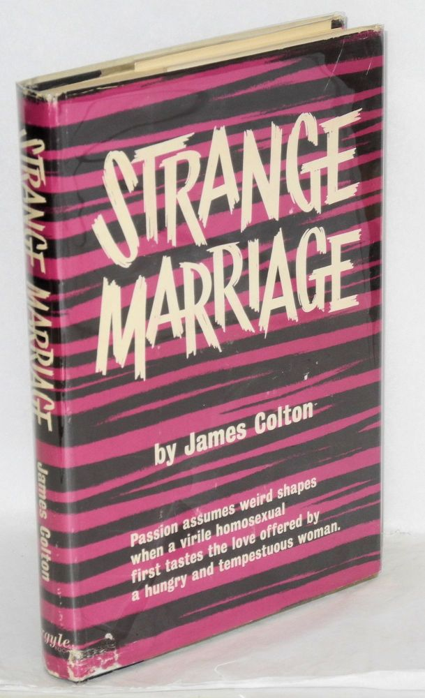 Strange marriage. James Colton, Joseph Hansen.