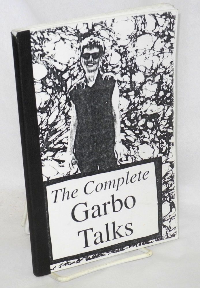 The complete Garbo talks. Garbo.