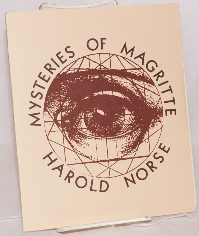Mysteries of Magritte. Harold Norse.