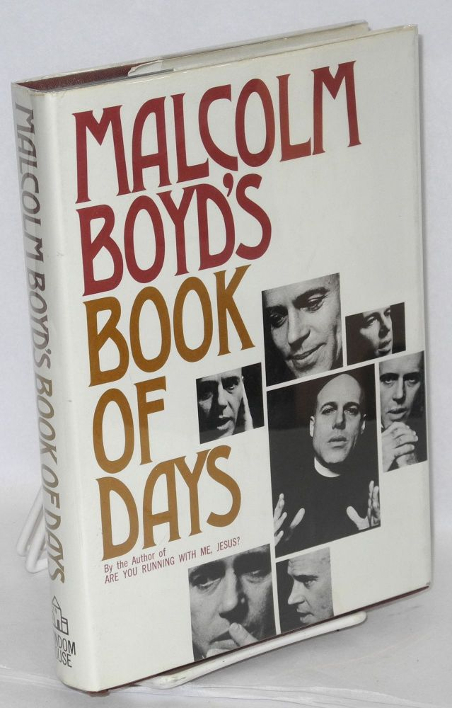 Malcolm Boyd's book of days. Malcolm Boyd.