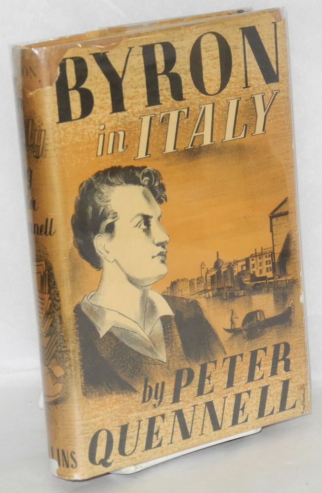 Byron in Italy. Peter Quennell.