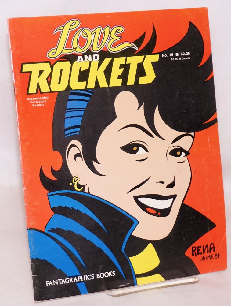 Love and rockets #15. Hernandez Bros.