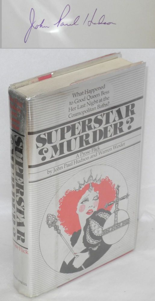 Superstar murder? A prose flick. John Paul Hudson, Warren Wexler.