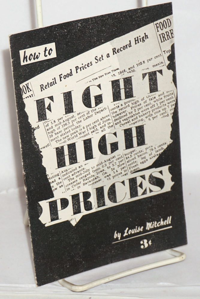 How to fight high prices. Louise Mitchell.