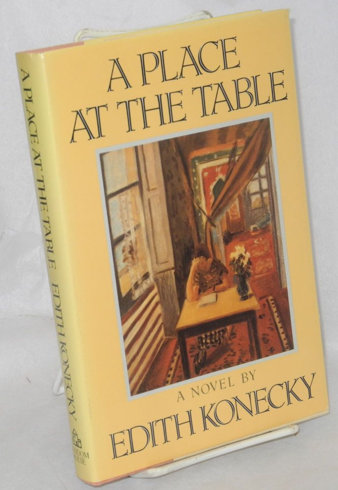 A place at the table. Edith Konecky.