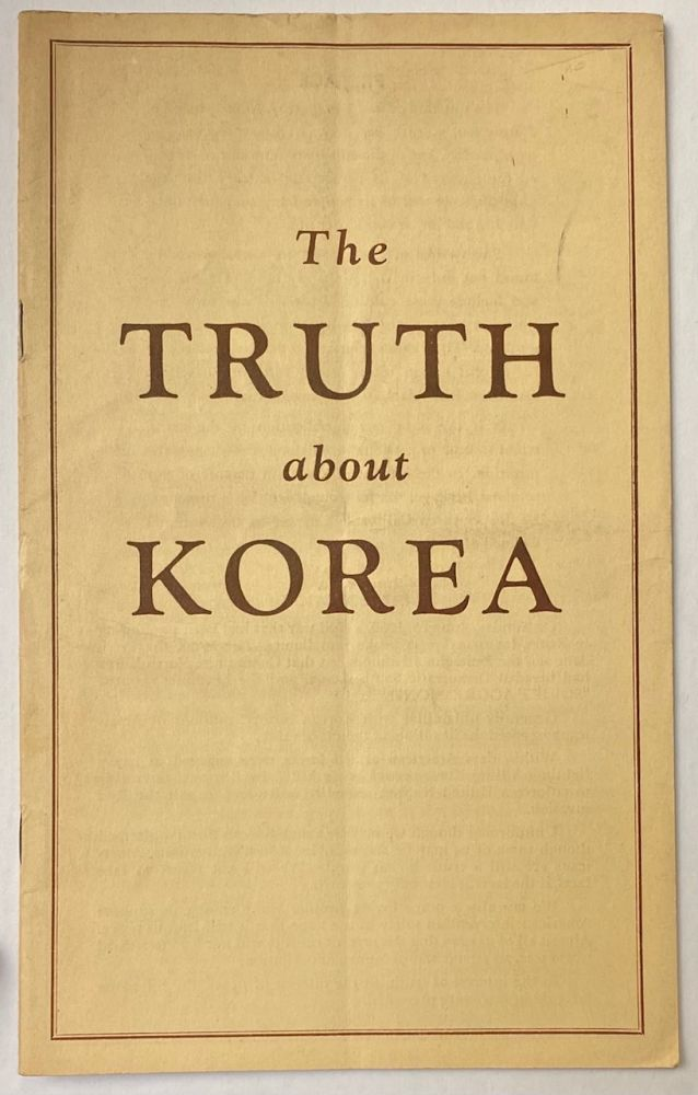 The truth about Korea