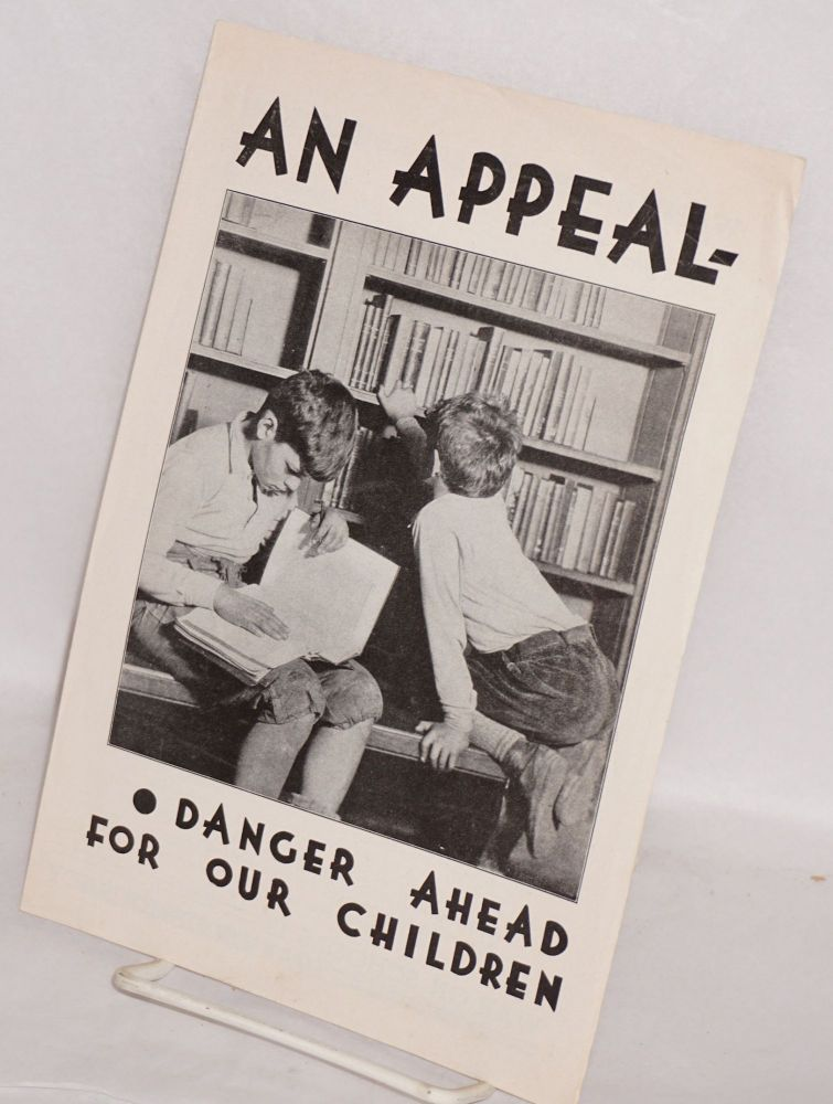 An Appeal From Federation For Children >> An Appeal Danger Ahead For Our Children By New York State Federation Of Teachers Unions On Bolerium Books
