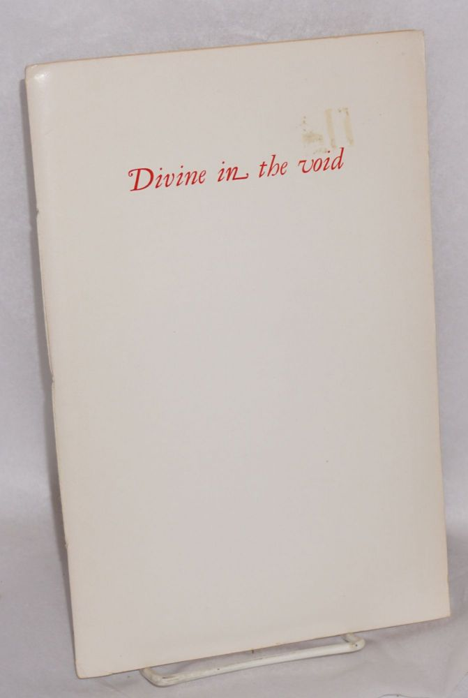 The four Zoas journal of poetry & letters. Carthago delenda est: 1976 [cover title: Divine in the wind]