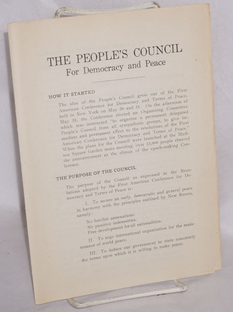 The People's Council for Democracy and Peace