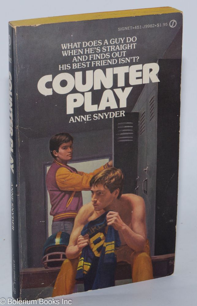 Counter play. Anne Snyder, Louis Pelletier.