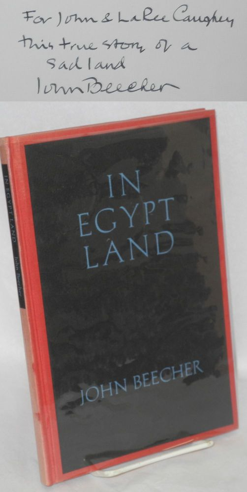 In Egypt land. John Beecher.
