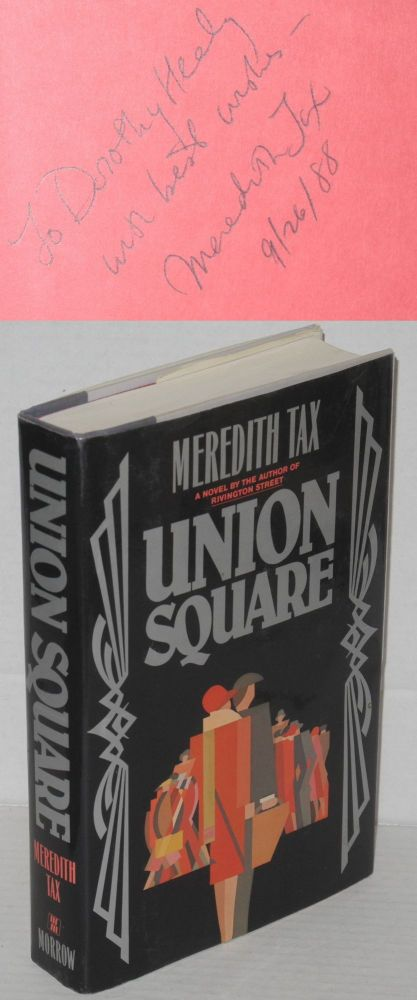 Union square. Meredith Tax.